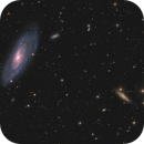 M106 - Spiral galaxy and friends,                                Arnaud Peel