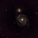 M51 Galassia Vortice,                                Gabrieledimonza