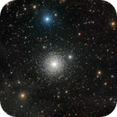 "M15 globular cluster ""bathing"" in IFN,                                Alex S."
