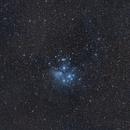 M45 Pleiades 135mm Widefield,                                JanD