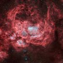 Ngc6357-nébuleuse guerre et paix HOO,                                astromat89