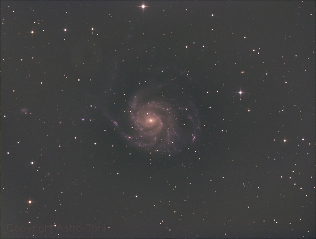 Messier 101,                                Anton