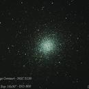 Globular Cluster Omega Centauri - NGC 5139,                                Diego Landstallker