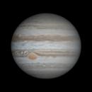 Jupiter - WinJUPOS Animation - 2016/03/13,                                Chappel Astro