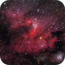 Cave Nebula (Sh2-155),                                rhedden