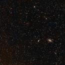 Bode's Nebulae (M81 and M82) at 200mm,                                Josh Woodward