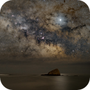 Milky Way over es Cucurucuc, Cadaqués,                                David Rius Serra