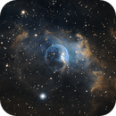 Bubble Nebula SHO,                                Drew Lanphere