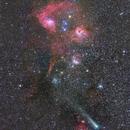 Comet Giacobini-Zinner Near Nebulas & Clusters In Auriga!,                                Mohammad Nouroozi