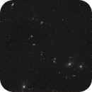 Markarian's Chain with M84, M86, M87, M88, M89, M90 & M91,                                David Cheng