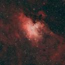 M16 - The Eagle Nebula (cropped),                                Arvind H.