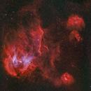 Running Chicken IC 2944,                                Nick Axaris