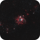 NGC1760 and NGC1761 in the LMC,                                Steve de Lisle