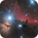Horsehead and Flame Nebulae  - IC 434 & NGC 2024,                                Gabriel R. Santos...