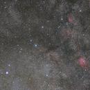 M27, sh2-88 and NGC6820 in Vulpecula,                                Yuichi Kawamoto