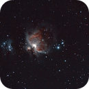 M42 - The Orion Nebula - December 31, 2013 (Edit 2),                                yayglobulars