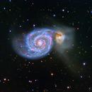 M51 Whirlpool Galaxy,                                Jerry Macon