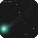 Structured tail of the comet Lovejoy,                                José J. Chambó
