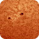 Sonnenoberfläche,                                Gabriele Gegenbauer