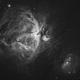 Nébuleuse d'Orion (M42) HA,                                manudu74