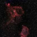 Heart and Soul Nebulae,                                namreg