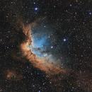 NGC7380 the Wizard Nebula,                                Jeremy Jonkman