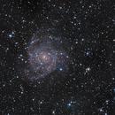 IC 342 Maffei group  on Lacerta 250 in HaLRGB,                                Piet Vanneste
