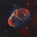 Crescent Nebula - 2 telescope combination,                                Matt Proulx