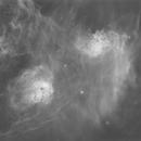 IC 405/410/417 H alpha, starless version,                                Torsten Daiber