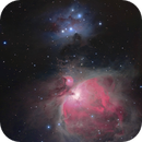 Orion Nebula & Running Man Mosaic,                                mikebrous