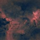 IC1805 - NGC896 - Heart nebula - starless,                                Dagolaf