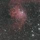 IC405 The Flaming Star Nebula HOORGB,                                  Michael Caller