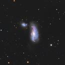 Ngc 4490- la galaxie du cocon,                                astromat89