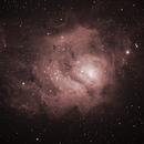 Lagoon Nebula - 7/5/16,                                David Johnson