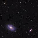 M81 Bode's Galaxy M82 Cigar Galaxy,                                Muhammad Ali