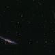 Whale and Hockey Stick Galaxies (NGC 4656 & NGC 4631),                                Kelvinmack