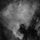 VSD100 test: NGC7000 Halpha,                                Mauro Narduzzi