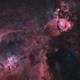 IC 1805 - Heart Nebula - Oct 2019 - Bicolor v1,                                Martin Junius
