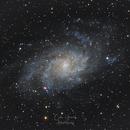 M33 - Triangulum Galaxy,                                Cédric Grisvard