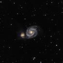 M51 Whirlpool Galaxy,                                Steve Bumpers