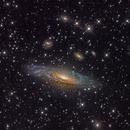 NGC 7331 (A Spiral Galaxy in Pegasus),                                Miles Zhou