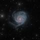 "M101 Pinwheel - ""Disheveled galaxy"",                                marsbymars"