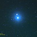 The star Mizar with Alcor in the constellation Ursa Major,                                Hans-Peter Olschewski