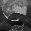 Mobius Arch Moonrise,                                tonyhallas