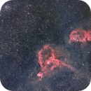 Double Cluster in Perseus and Heart and Soul Nebulae,                                jan7702