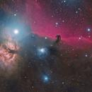Horsehead and Flame from Dark Skies,                                Ignacio Diaz Bobillo
