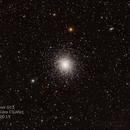Messier 13 - Hercules cluster,                                MRPryor