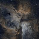 Nebulosa de Eta Carinae (Ha+HaOiii+Oiii),                                Sady  Contreras
