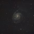 Pinwheel Galaxy,                                Chappel Astro