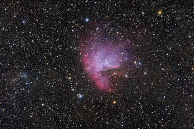 The Pac-Man Nebula in Cassiopeia,                                Francesco Meschia